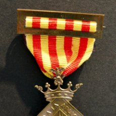 Militaria: ANTIGUA MEDALLA DE HONOR AL MERITO 1910 GUARDIA URBANA DE BARCELONA POLICIA CATALUÑA RARA. Lote 54202510