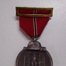 Militaria: MEDALLA DEL PRIMER INVIERNO EN RUSIA. 1941-1942. WINTERSCHLACHT IMOSTEN. MARCAJE 13. Lote 116698135