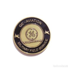 Militaria: MEDALLA GLOBAL SUPPORT - GE AVIATION - MILITARY FIELD SERVICE - 4,5 CM DE DIÁMETRO. Lote 116796599
