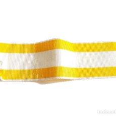 Militaria: 11 CM DE CINTA DE LA ORDEN DE ISABEL LA CATÓLICA - 3 CM ANCHA. Lote 116947687