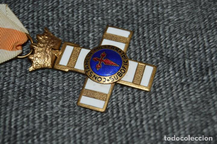 Militaria: VINTAGE - MEDALLA ORIGINAL - MEDALLA A LA CONSTANCIA MILITAR SUBOFICIAL - BUEN ESTADO - HAZ OFERTA - Foto 3 - 116999931