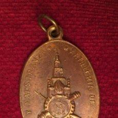 Militaria: RARA MEDALLA DE SANTA BARBARA NO&DO - PARQUE Y MAESTRANZA DE ARTILLERIA DE SEVILLA AÑO 1964 . Lote 117079515