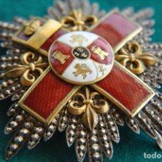 Militaria: PLACA ISABELINA M,ERITO MILITAR DISTINTIVO ROJO.-. Lote 117290955