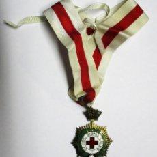 Militaria - CRUZ ROJA ESPAÑOLA. MEDALLA 1ª CLASE (1939-1975) CON CORONA IMPERIAL. LOTE-0031 - 117311107