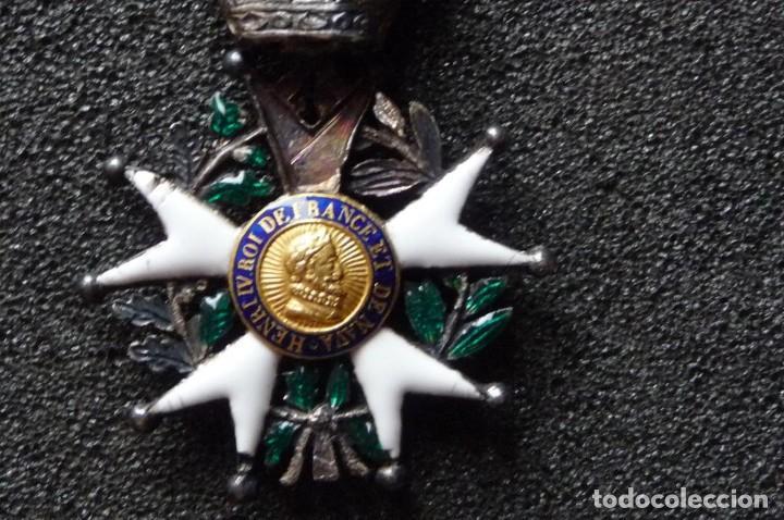(JX-180416)MEDALLA LEGIÓN DE HONOR FRANCESA,ÉPOCA PRIMERA RESTAURACIÓN 1814-30,CATEGORÍA CABALLERO (Militar - Medallas Extranjeras Originales)