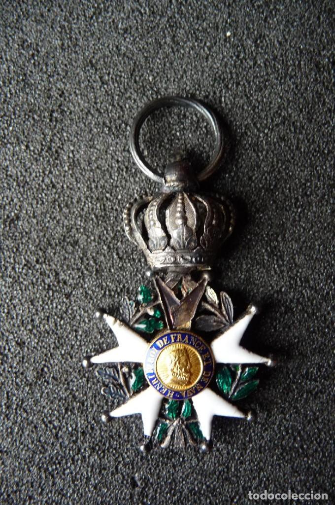 Militaria: (JX-180416)Medalla Legión de Honor Francesa,época Primera Restauración 1814-30,categoría Caballero - Foto 2 - 117410971