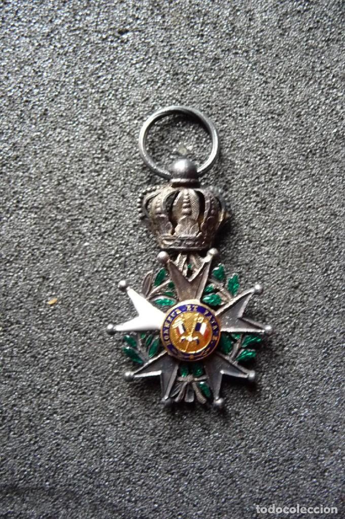 Militaria: (JX-180416)Medalla Legión de Honor Francesa,época Primera Restauración 1814-30,categoría Caballero - Foto 5 - 117410971