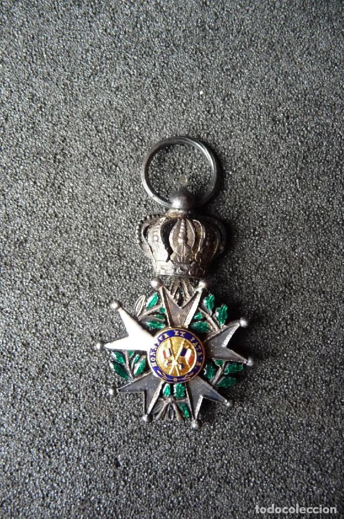 Militaria: (JX-180416)Medalla Legión de Honor Francesa,época Primera Restauración 1814-30,categoría Caballero - Foto 6 - 117410971