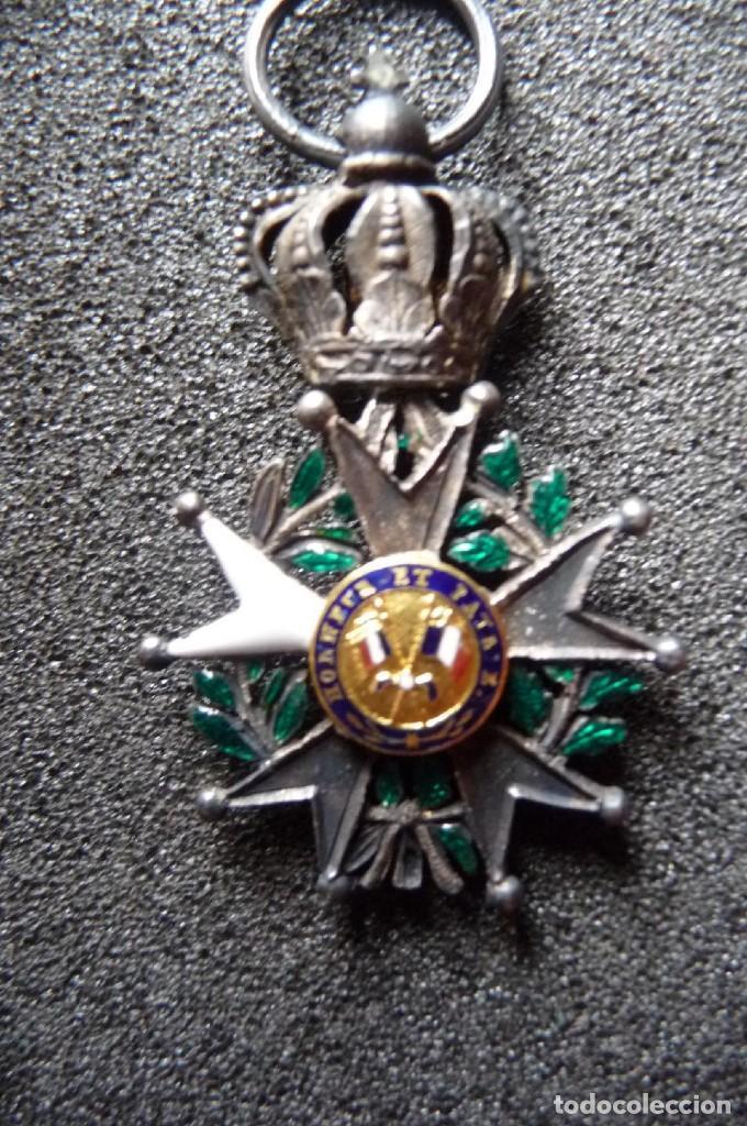 Militaria: (JX-180416)Medalla Legión de Honor Francesa,época Primera Restauración 1814-30,categoría Caballero - Foto 7 - 117410971