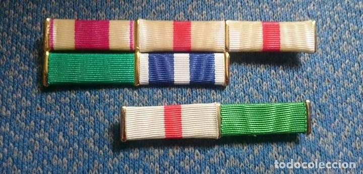 LOTE PASADORES DIARIO (Militar - Cintas de Medallas y Pasadores)