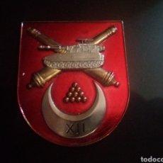 Militaria: PLACA DE REGULARES XII.ARTILLERÍA ATP.. Lote 117459848