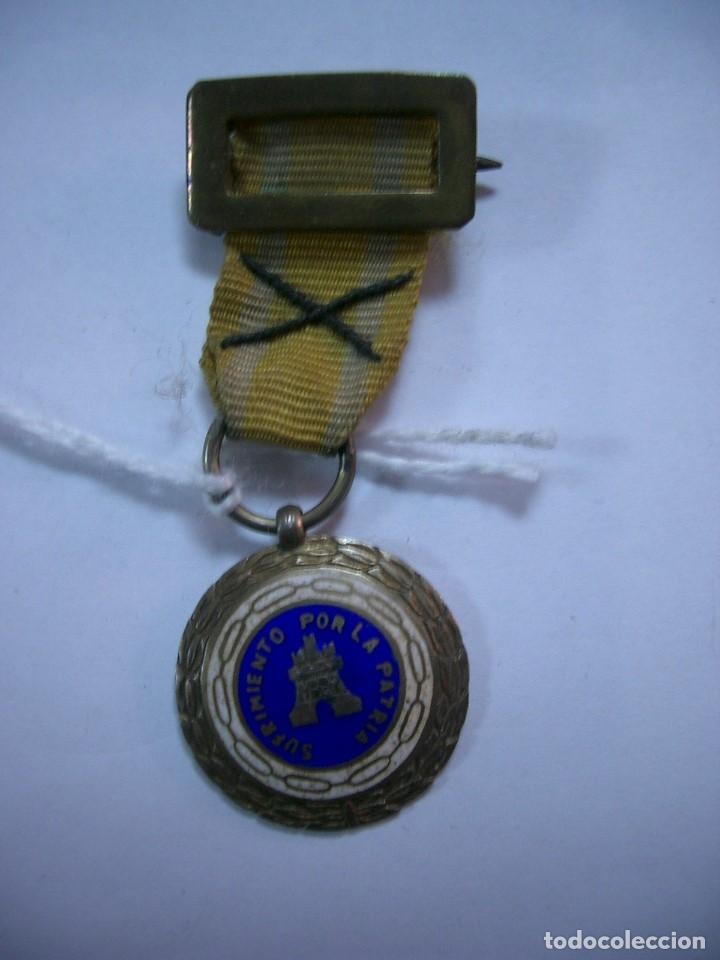 MEDALLA ORIGINAL - SUFRIMIENTO POR LA PATRIA.CA4 (Militar - Medallas Españolas Originales )