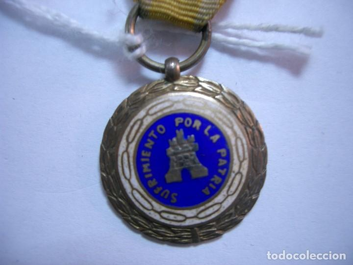 Militaria: MEDALLA ORIGINAL - SUFRIMIENTO POR LA PATRIA.ca4 - Foto 2 - 117513519