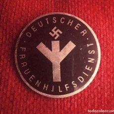 Militaria: DISTINTIVO III REICH SERVICIOS FEMENINOS AUXILIARES - WWII GERMAN NAZI DEUTSCHER FRAUENHILFSDIENST. . Lote 117826703