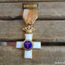 Militaria: MEDALLA CONTANCIA MILITAR SUBOFICIAL ESMALTE BLANCO CORONA REAL. Lote 118146787
