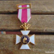 Militaria: MEDALLA PREMIO A LA CONTANCIA MILITAR SUBOFICIAL ESMALTE BLANCO. Lote 118147255