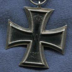 Militaria: ALEMANIA. CRUZ DE HIERRO DE 2ª CLASE, 1914. 1ª GUERRA MUNDIAL. CINTA PARA NO COMBATIENTES.. Lote 118254179