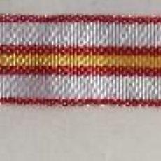 Militaria: CINTA DE MEDALLA MINIATURA CRUZ DE PLATA DE LA ORDEN MILITAR DE MARÍA CRISTINA, PARA TROPA. 1925-31.. Lote 118267583