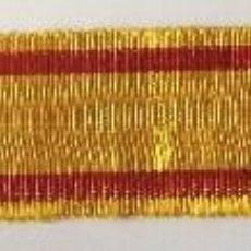 Militaria: CINTA DE MEDALLA MINIATURA REY ALFONSO XII. GUERRAS CARLISTAS. 1875. ESPAÑA. RÉPLICA. Lote 118370295