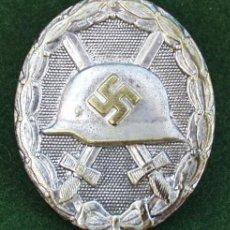 Militaria: ALEMANIA - CONDECORACION A HERIDOS CATEG. PLATA. Lote 118519327