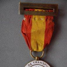 Militaria: MEDALLA DE DONANTE DE SANGRE. 1937. GUERRA CIVIL. Lote 119169299
