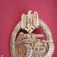 Militaria: DISTINTIVO DE LUCHA CON CARROS DE COMBATE III REICH. Lote 27066938