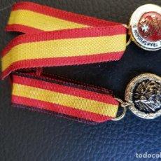 Militaria: MINIATURAS MÉRITO EN CAMPAÑA Y DONANTE DE SANGRE MILITAR. Lote 119439959