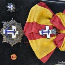 Militaria: PLACA DE LA GRAN CRUZ DISTINTIVO BLANCO.. Lote 119551595