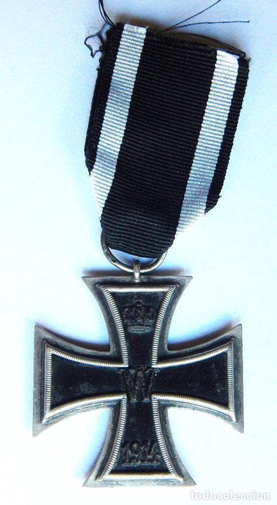 cruz de hierro primera guerra, con cinta para c - Comprar Medallas ...