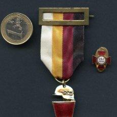 Militaria: GUERRA CIVIL, MEDALLA, INSIGNIA, PAZ 1939-1964, HONOR Y GLORIA A CAÍDOS Y HÉROES, 1964. Lote 119995667