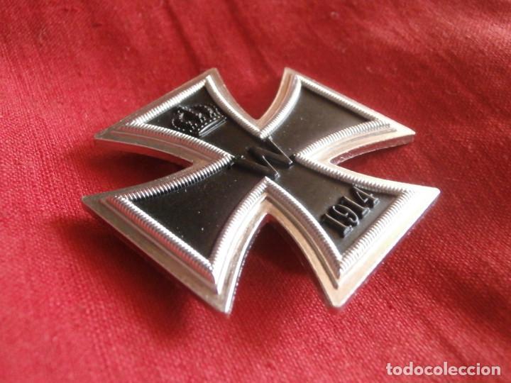 Militaria: Medalla condecoración alemana I primera guerra mundial 1914 1918 Cruz de Hierro I clase COPIA REPRO - Foto 2 - 128967952