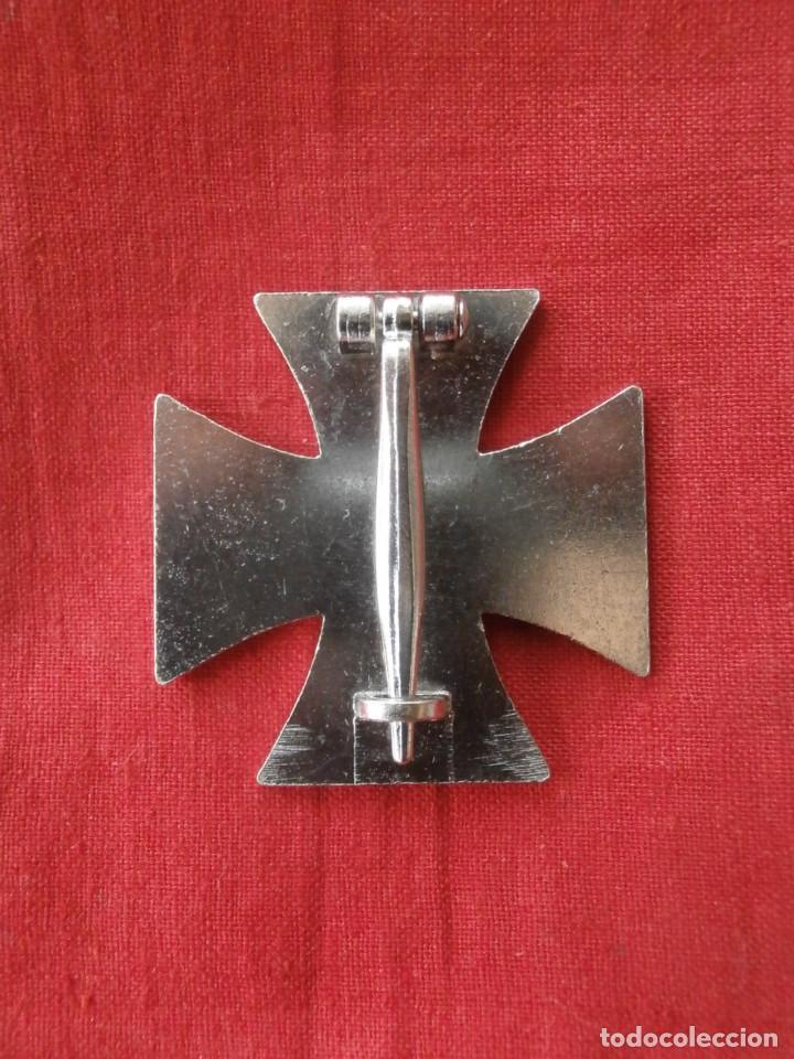Militaria: Medalla condecoración alemana I primera guerra mundial 1914 1918 Cruz de Hierro I clase COPIA REPRO - Foto 3 - 128967952