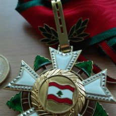Militaria: ORDEN DEL CEDRO DEL LÍBANO. MINISTRO LEÓN HERRERA. Lote 120284199