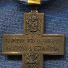 Militaria: ITALIA. CRUZ DE LA GUERRA POR LA UNIDAD NACIONAL ESPAÑOLA.. Lote 120303435