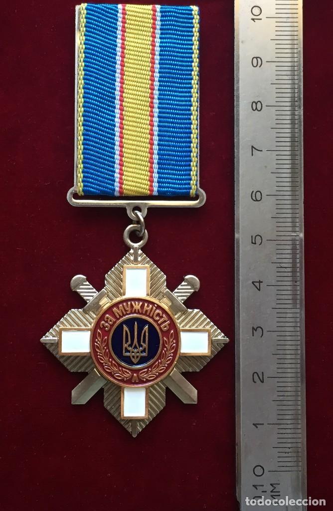 Militaria: ORDEN POR VALENTIA 3 CLASSE UCRANIA # 259962 - Foto 3 - 120606319