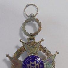 Militaria: CUBA. MEDALLA AL MERITO MILITAR. AÑOS 40. VER FOTOS. Lote 121008991