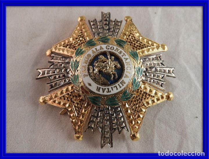 MEDALLA MILITAR PREMIO A LA CONSTANCIA MILITAR ORDEN SAN HERMENEGILDO (Militar - Medallas Españolas Originales )