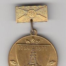Militaria: ALEMANIA MEDALLA REICHSKRIEGERBUND KYFFHAUSERBUND 1786 1971. 185 INFANTERIA. Lote 121183007