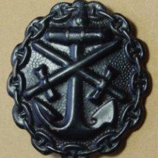 Militaria: ALEMANIA MEDALLA HERIDO NEGRO ARMADA WWI. Lote 121453019