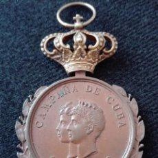 Militaria: MEDALLA DE LA CAMPAÑA DE CUBA 1895-1898. Lote 125235326