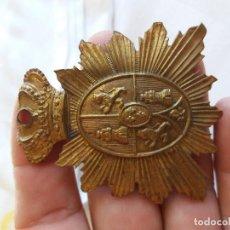Militaria: PLACA ESPAÑOLA ANTIGUA EPOCA ALFONSO. Lote 121622583