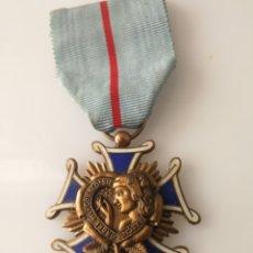 Militaria: MEDALLA DE FRANCIA - ORDEN DE CORTESIA FRANCESA - CRUZ DE CABALLERO. Lote 121700094