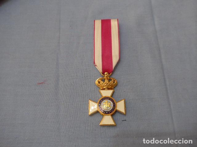 * MEDALLA DEL ORDEN DE SAN HERMENEGILDO DE JUAN CARLOS I. ORIGINAL. ZX (Militar - Medallas Españolas Originales )