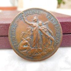 Militaria: MEDALLA REPUBLICANA LIBERTAD IGUALDAD FRATERNIDAD AÑO 1906 PARERA RODRIGUEZ. Lote 122290731