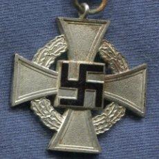 Militaria: ALEMANIA III REICH. CRUZ 25 AÑOS DE SERVICIO (TREUDIENST EHRENZEICHEN).. Lote 122344419