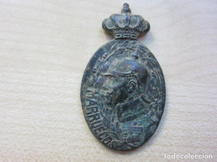 MEDALLA GUERRA DE MARRUECOS, REINADO ALFONSO XIII (Militar - Medallas Españolas Originales )