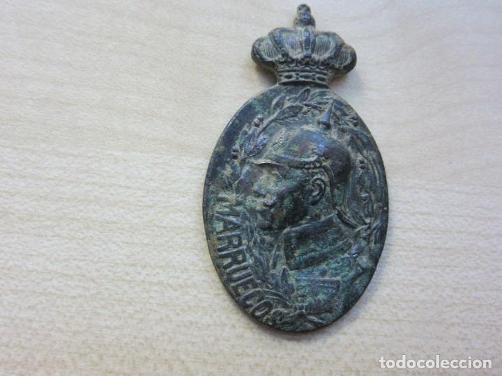Militaria: Medalla guerra de Marruecos, reinado Alfonso XIII - Foto 2 - 122436783