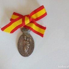 Militaria: MEDALLA ASOCIACIÓN DE DAMAS DE NUESTRA SEÑORA DEL LORETO PATRONA DE LA AVIACION TARRAGONA /REUS. Lote 122657407