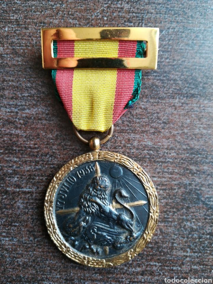 MEDALLA 17 JULIO 1936 (Militar - Medallas Españolas Originales )