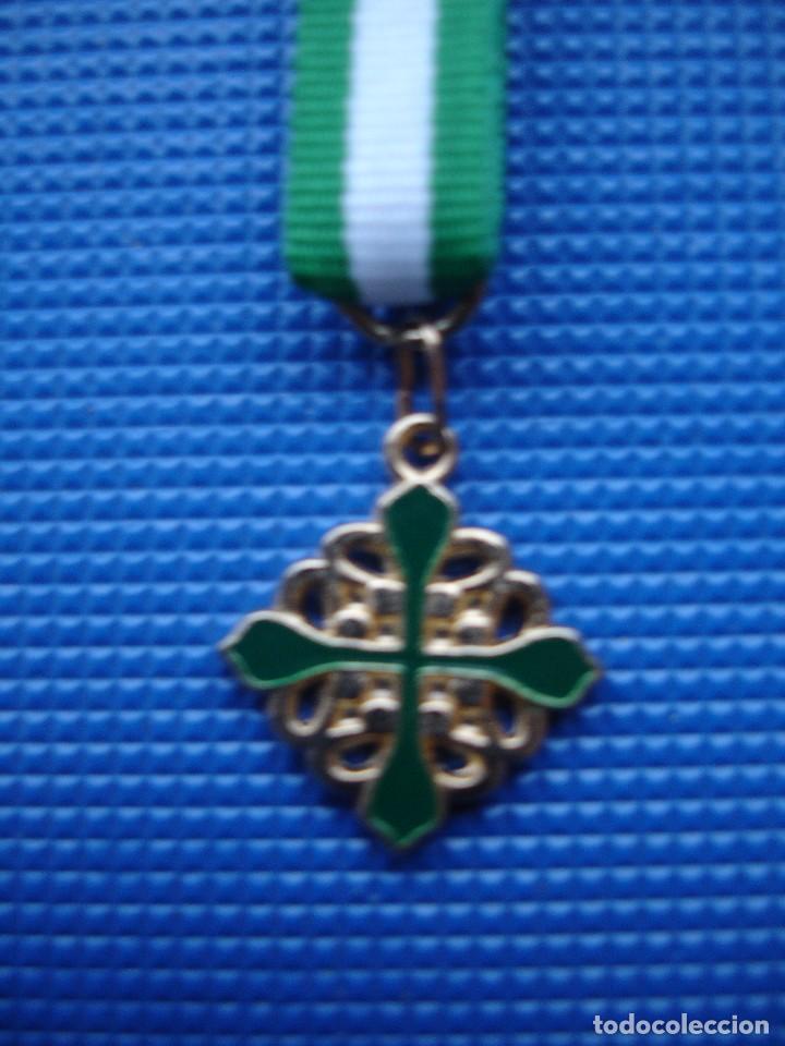 Militaria: MEDALLA MINIATURA ORDEN DE ALCANTARA - Foto 2 - 127679438